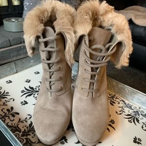 Gucci Suede Boots
